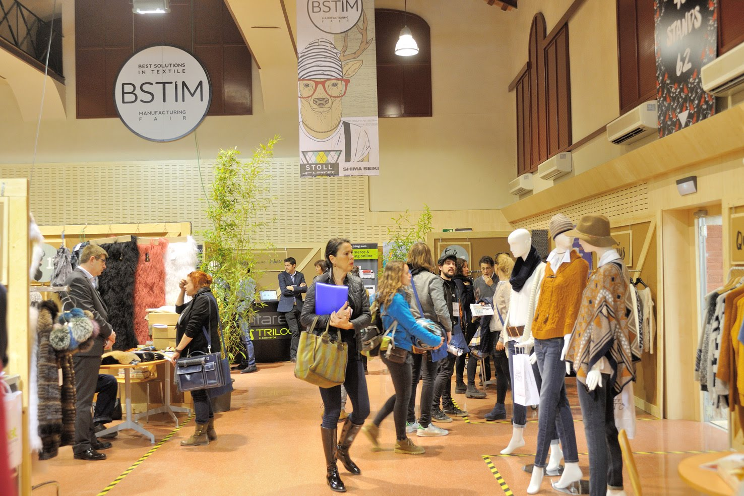 Trilogi - TLG Commerce participa en la feria textil BSTIM