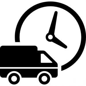 camion-de-reparto-de-la-logistica-y-el-reloj_318-61623