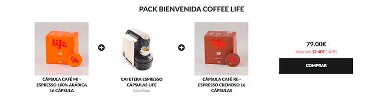 packs-de-productos en Coffeelife