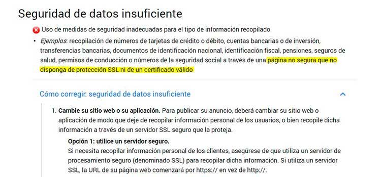 politica-google-seguridad-ssl