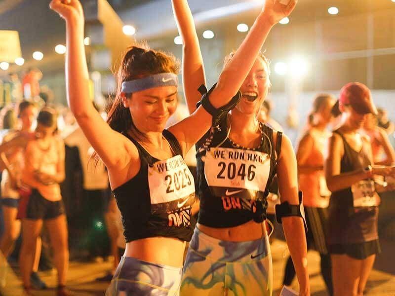 Women running Hong Kong - New chinese lifestyle - Nike running clubs